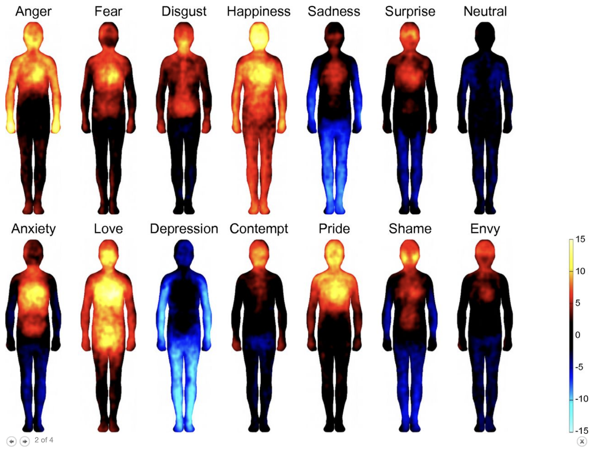 Bodily maps of emotions